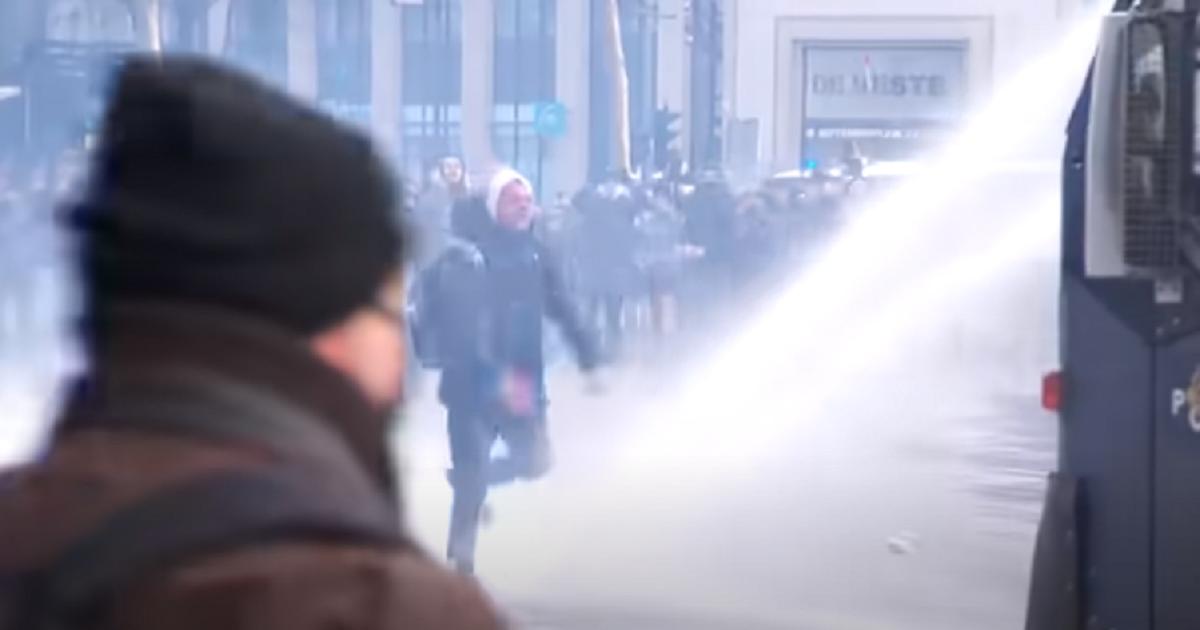 bodycambeelden rellen Eindhoven